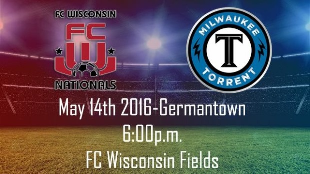 FC Wisconsin to Host Milwaukee Torrent in Exhibition Match