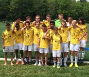 FCW USSDA 14's go Undefeated at USSDA Showcase