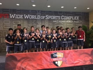 FC Wisconsin find Success at Disney Showcase over Thanksgiving Holiday